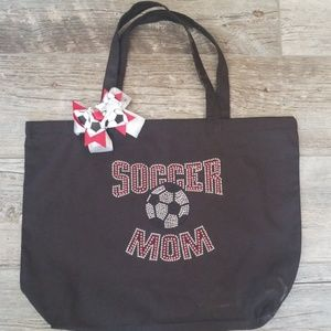 Soccer Mom Bling Bag